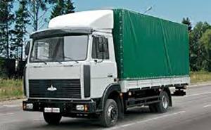 маз 5 тонн, тентованный фургон