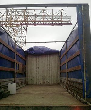 Маз 5 тонн, верхняя загрузка